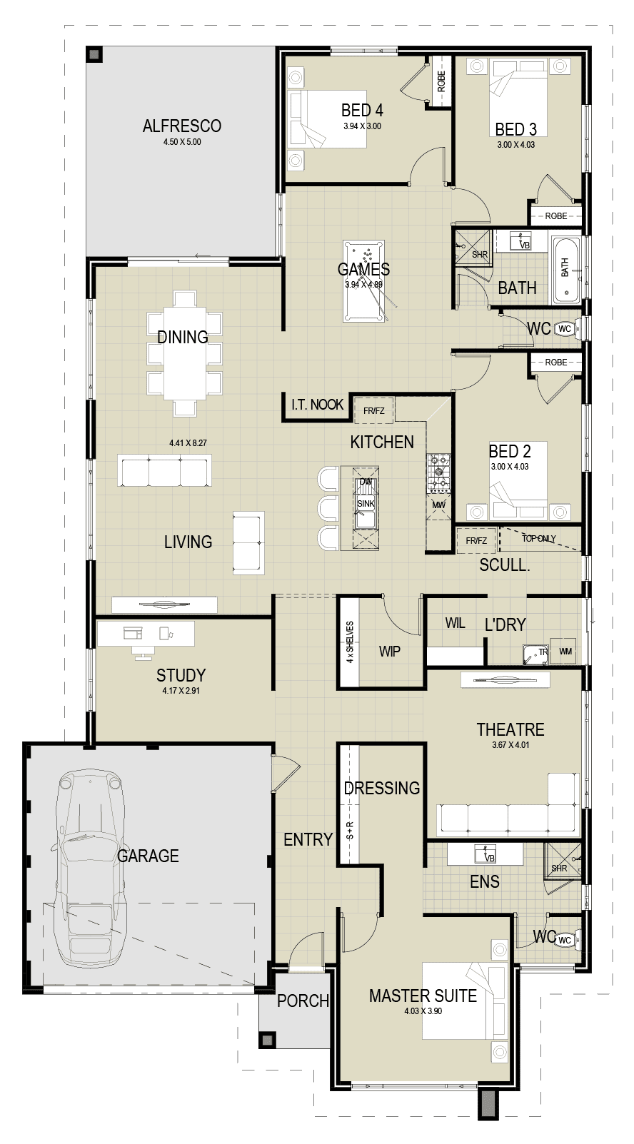 The Sovereign floor plan